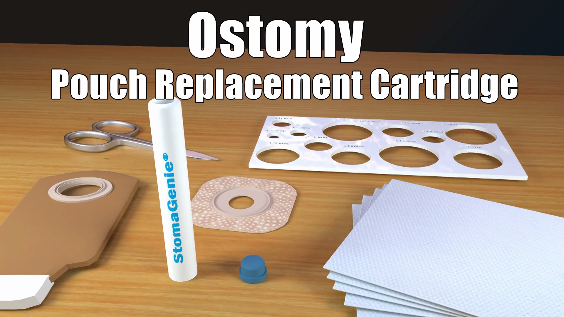 Ostomy Pouch Replacement Cartridge